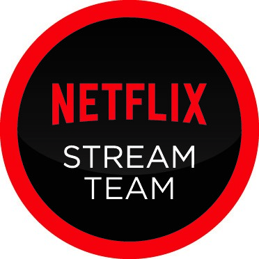 The Netflix Stream Team badge