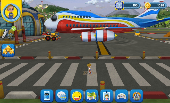 A screenshot from the game Airside Andy.