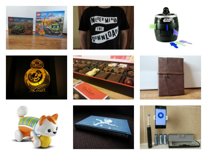 A selection of ideas from Diary of the Dad's Christmas Gift Guide 2016.