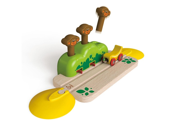 Pop-up Monkey Train Track by Hape.