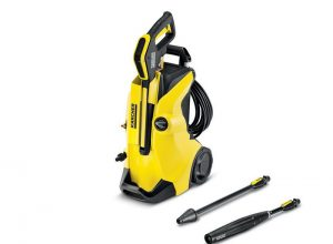 The Kärcher K4 Full Control pressure washer.