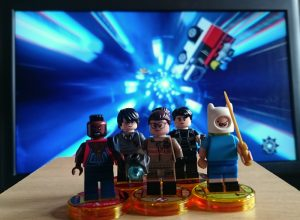 Some of the main characters from LEGO Dimensions wave six.
