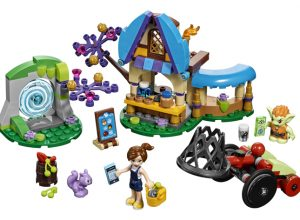 A LEGO Elves play set.