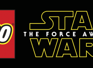 The LEGO Star Wars The Force Awakens logo.