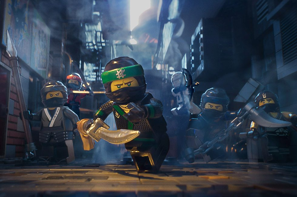 A still from The LEGO Ninjago Movie.