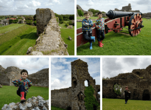 A selection of pictures of Pevensey Castle.