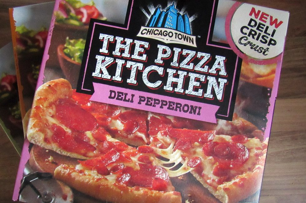 The Pizza Kitchen packaging.