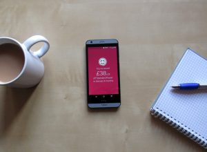 The Powershop app running on a smartphone.