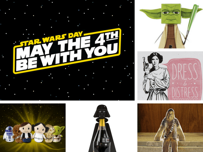 A selection of Star Wars goodies for Star Wars Month.
