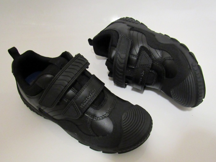 A pair of Start-rite Extreme Pri school shoes.