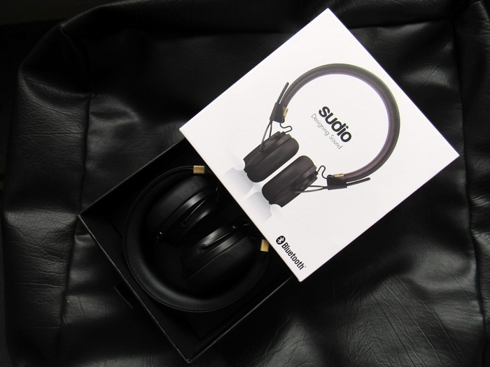 Sudio Regent wireless headphones.