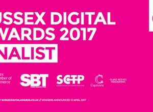 The Sussex Digital Awards banner.