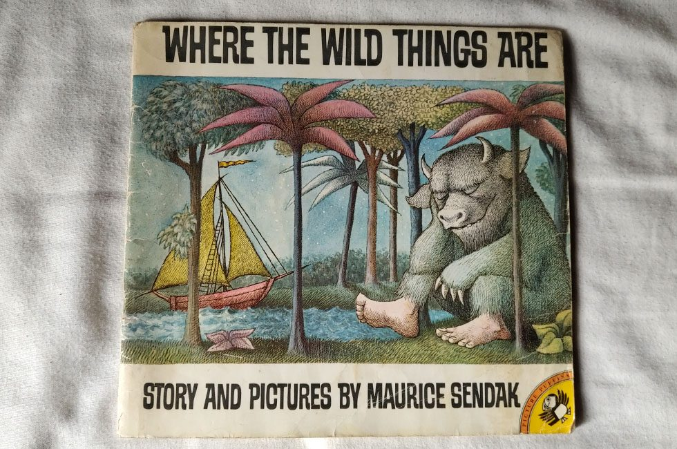 The front cover of Where the Wild Things Are.