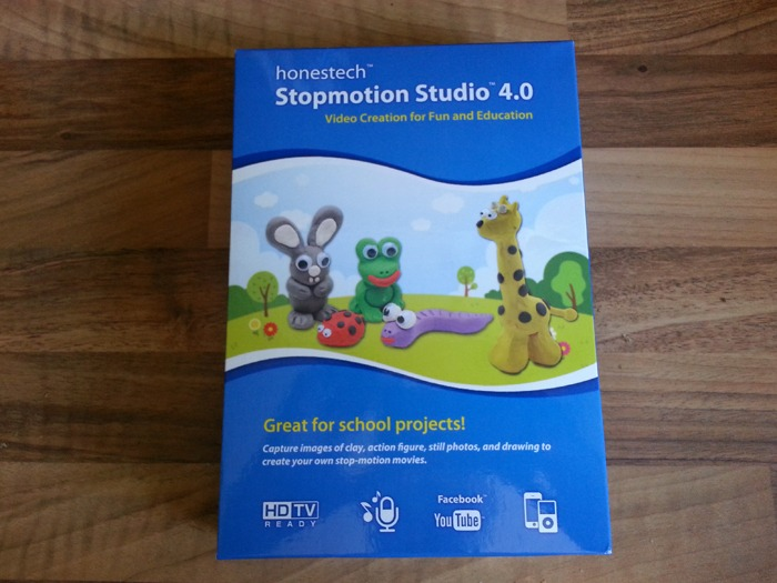 The Stopmotion Studio 4.0 box.