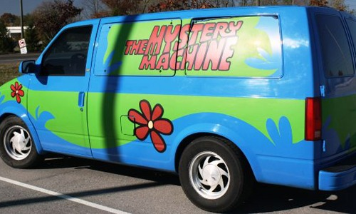 The Mystery Machine.