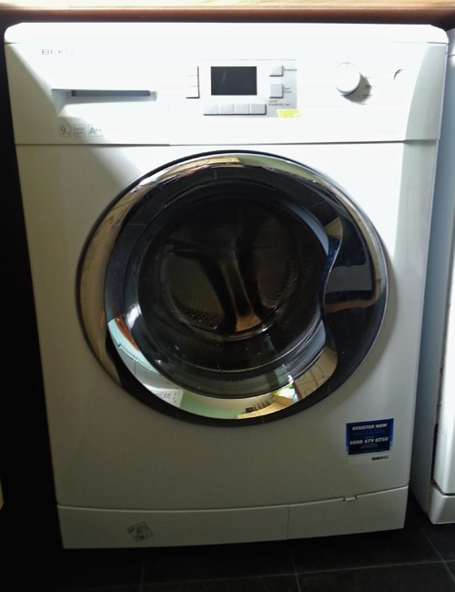 A Beko washing machine.