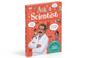 The front cover of Ask a Scientist by Professor Robert Winston.
