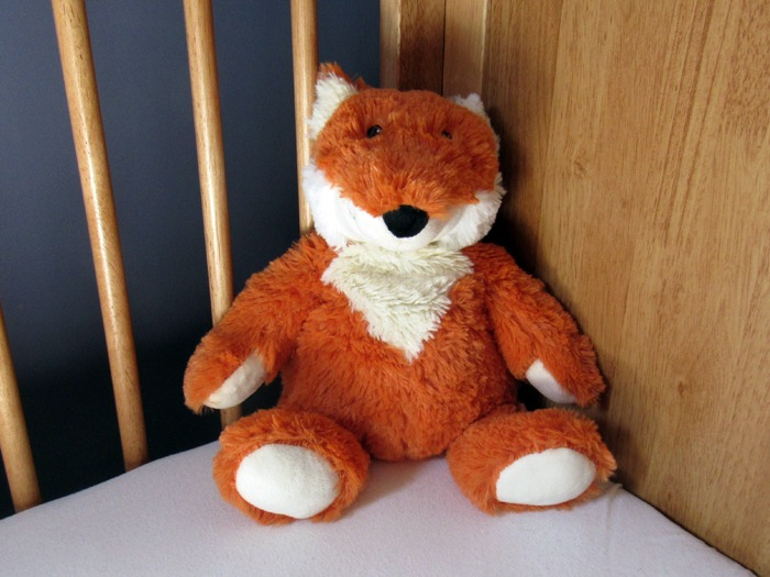 A cuddly fox toy.