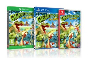 Gigantosaurus The Game on Xbox One, PS4 and Switch.