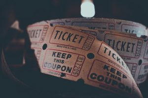 Just the ticket! Some old-style cinema tickets.