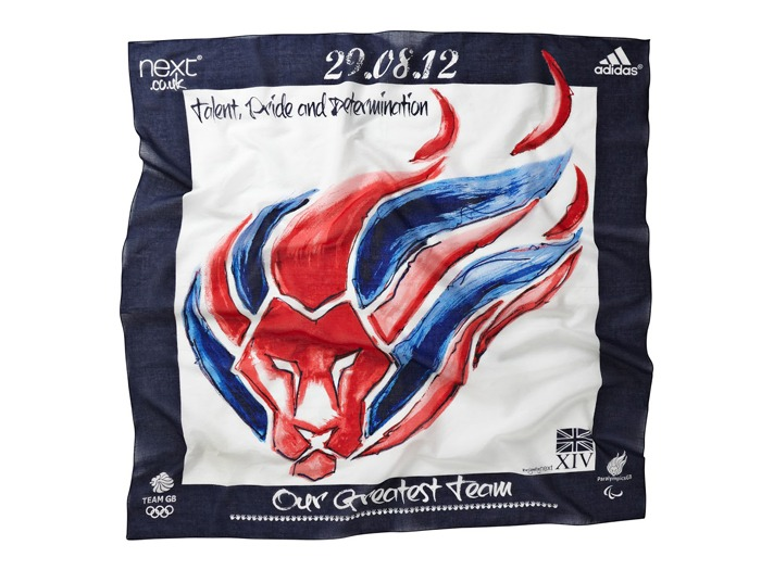 A Team GB scarf by Next.