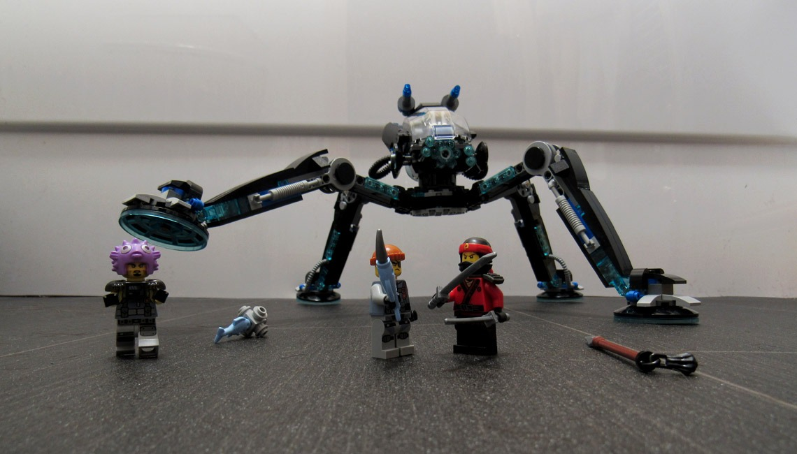 The LEGO Ninjago Movie Water Strider set.