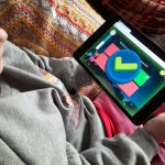 A child playing Night Zookeeper.
