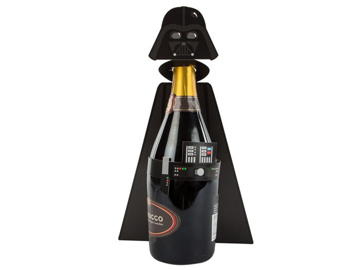 Darth Vader champagne case by Hallmark.