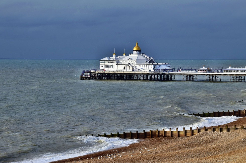 Eastbourne Pier in East Sussex.