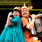 A production still from Zog Live on Stage.